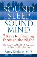 Sound Sleep  Sound Mind