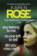 The Baltimore Collection  Books 1 3