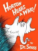 Horton Hears a Who  Book PDF