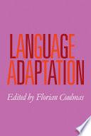 Language Adaptation