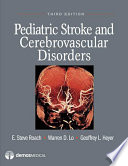 Pediatric Stroke And Cerebrovascular Disorders Book PDF