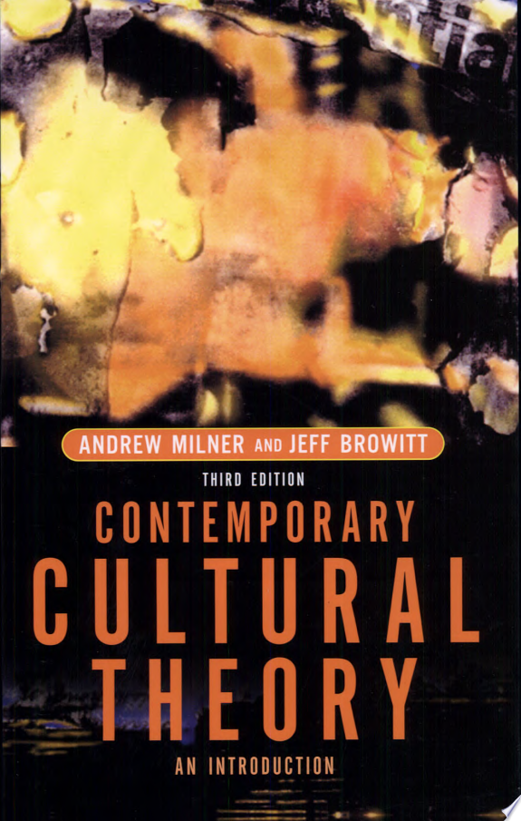 Contemporary Cultural Theory