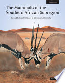 The Mammals Of The Southern African Sub Region