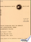 Wave Surfaces Due to Impact on Anisotropic Fiber Composite Plates Book