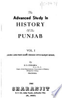 The Advanced Study in History of the Punjab