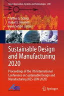Sustainable Design and Manufacturing 2020