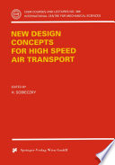 New Design Concepts for High Speed Air Transport Book