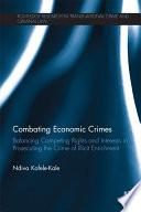 Combating Economic Crimes