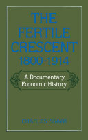 The Fertile Crescent, 1800-1914