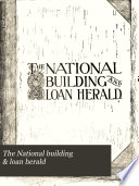 The National Building   Loan Herald Book PDF