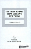The Taboo Against Being Your Own Best Friend