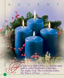 Advent Blue Fourth Sunday Large Bulletin 2009 (Package Of 50)