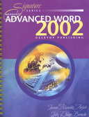 Microsoft Advanced Word 2002
