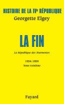 Pdf Histoire de la IVe République Volume V Telecharger