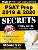 PSAT Prep 2019   2020 Secrets Book