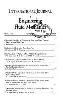 International Journal of Engineering Fluid Mechanics