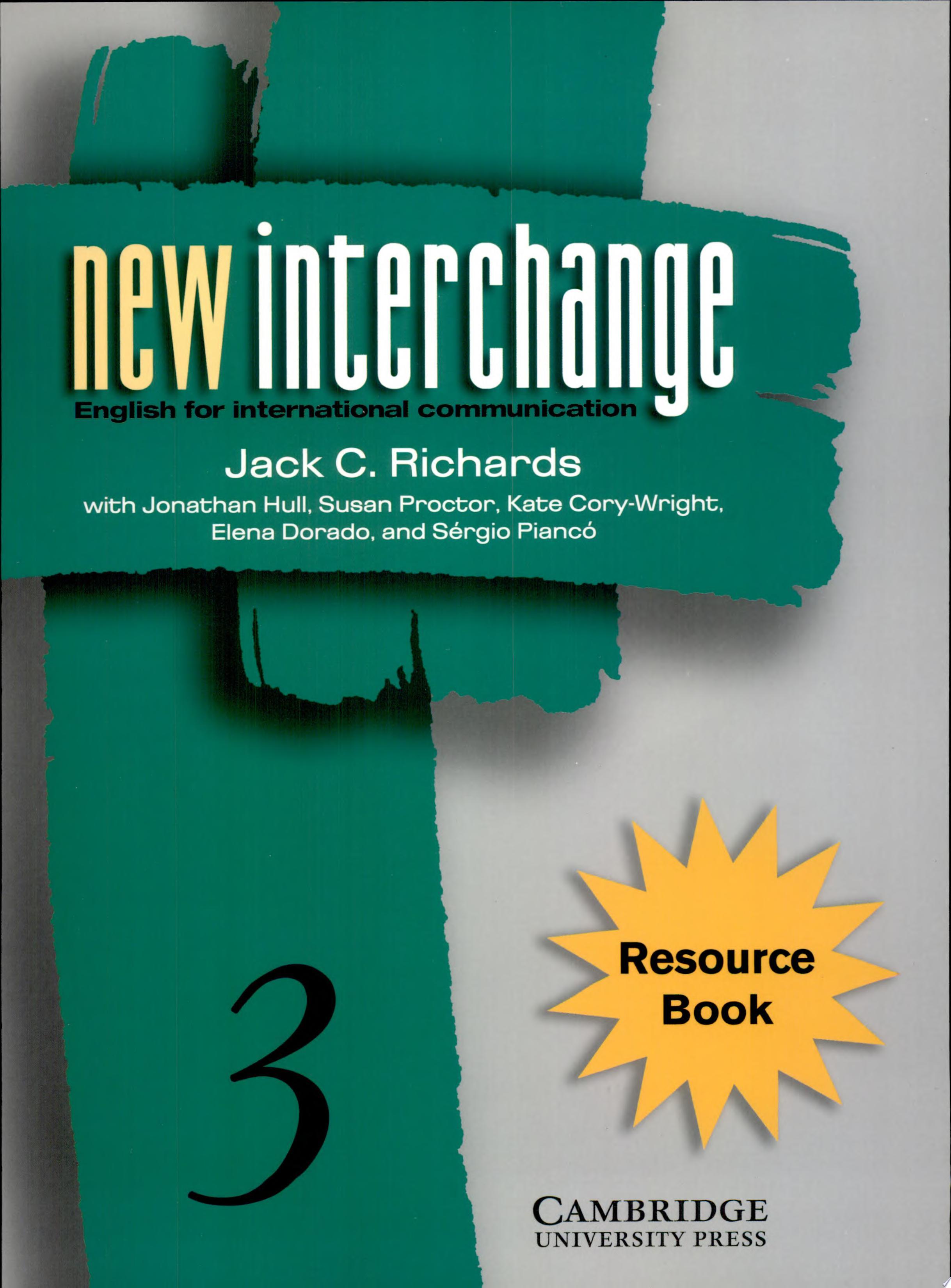 New Interchange Resource Book 3