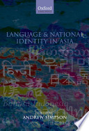 Language and National Identity in Asia