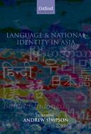 Language and National Identity in Asia Pdf/ePub eBook