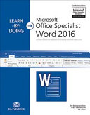 A Visual  Hands on Approach to Learning Microsoft Word 2016