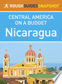 Nicaragua  Rough Guides Snapshot Central America on a Budget