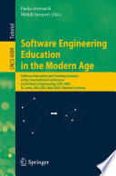 Software Engineering Education in the Modern Age Book