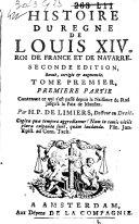 Histoire du règne de Louis XIV., Roi de France et de Navarre