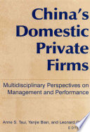 China s Domestic Private Firms
