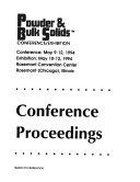 Powder   Bulk Solids Conference Exhibition