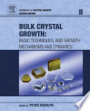 Handbook Of Crystal Growth Book PDF
