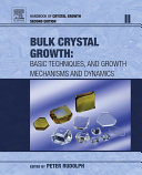 Handbook of Crystal Growth