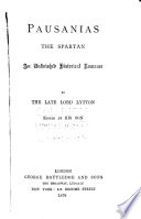 Pausanias the Spartan  The haunted and the haunter  1878