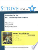 Strive for a 5: Preparing for the AP* Psychology Exam (Myers AP)