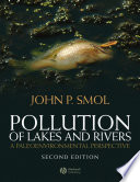 Pollution of Lakes and Rivers Book