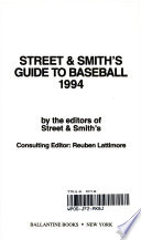 Street & Smith's Guide to Baseball 1994