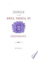 Songs of the Beta Theta Pi Fraternity