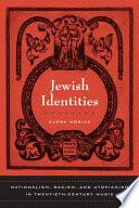 Jewish Identities