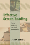 Effective Screen Reading ebook