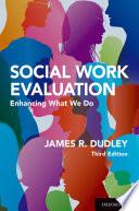 Social Work Evaluation Book