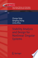 Stability Analysis and Design for Nonlinear Singular Systems