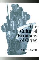 The Cultural Economy of Cities