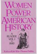 Women and Power in American History  To 1880