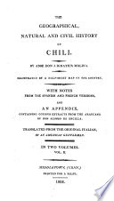 The geographical, natural and civil history of Chili, tr. by an American gentleman [R. Alsop].