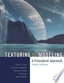 Texturing & Modeling  : A Procedural Approach