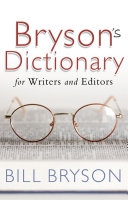 Bryson's Dictionary: for Writers and Editors Pdf/ePub eBook