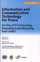Information and Communication Technology for Peace