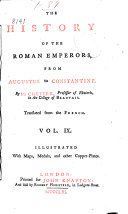 The History of the Roman Emperors from Augustus to Constantine
