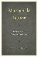 Pdf Marion de Lorme Telecharger