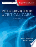 Cover of Evidence-based Practice of Critical Care