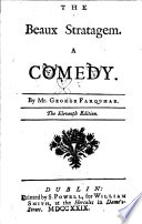 The Beaux Stratagem  A Comedy     The Eleventh Edition
